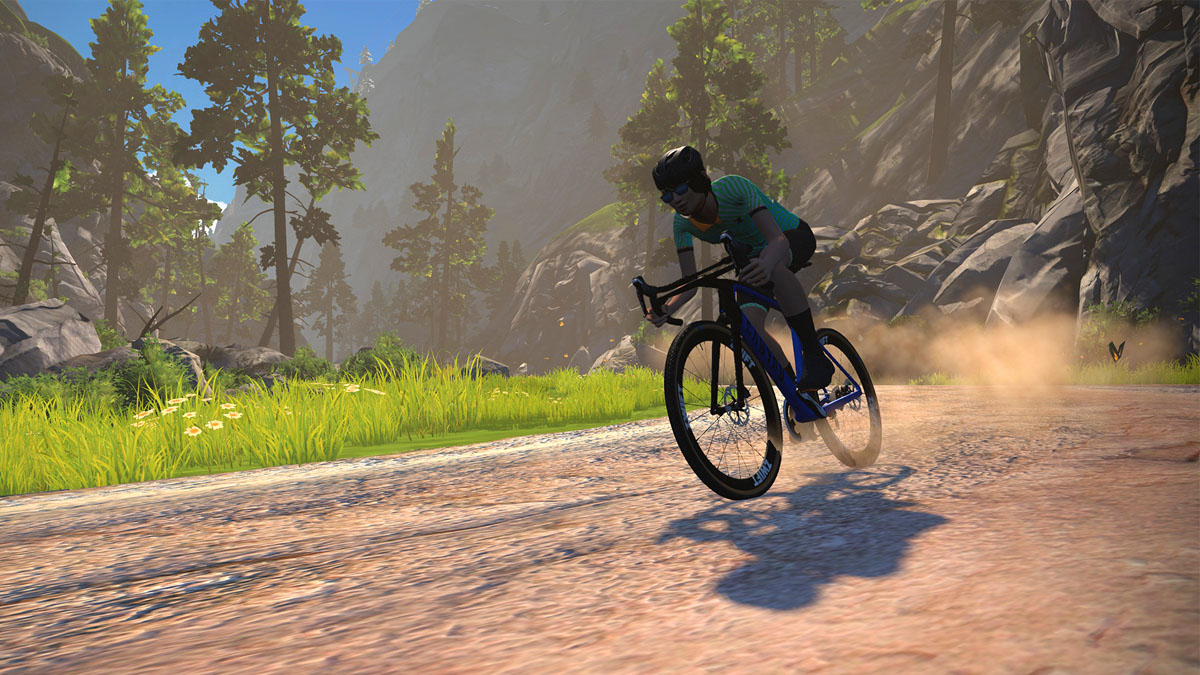 Zwift Crit City is a crash-proof world to go racing + new gravel & MTB specific training