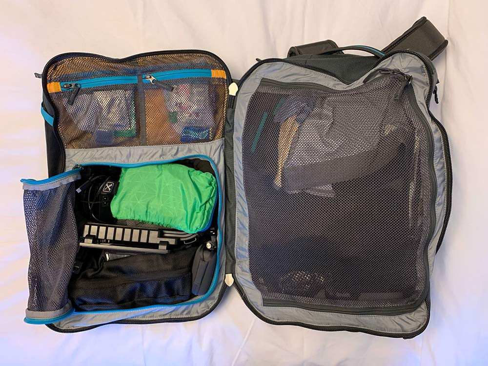 cotopaxi allpa 35L travel backpack with laptop sleeve