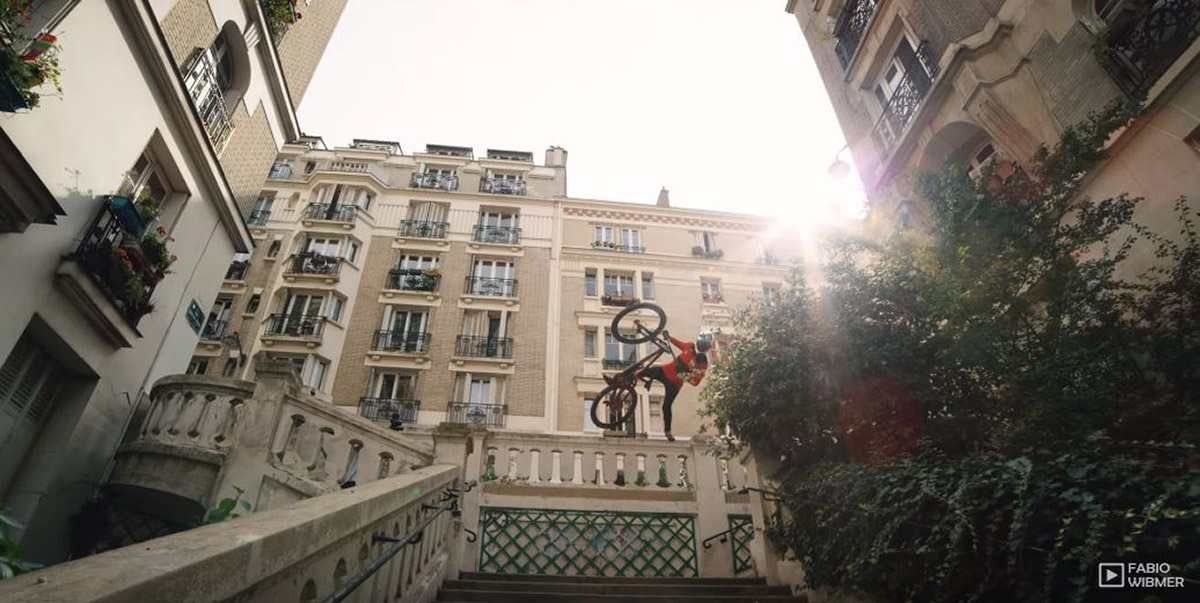 Must Watch: Urban Freeride Lives from Lyon to Paris with Fabio Wibmer, plus outakes