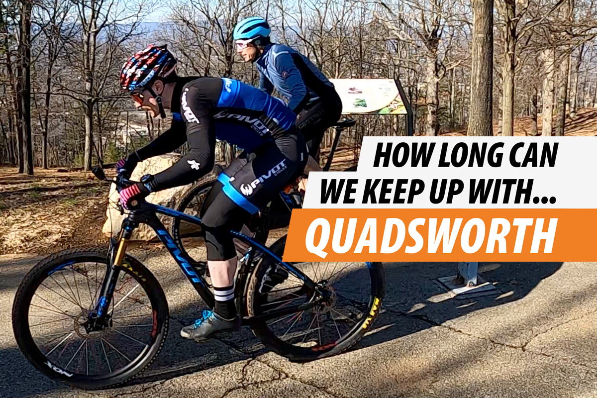 what is it like to race against a pro mountain biker