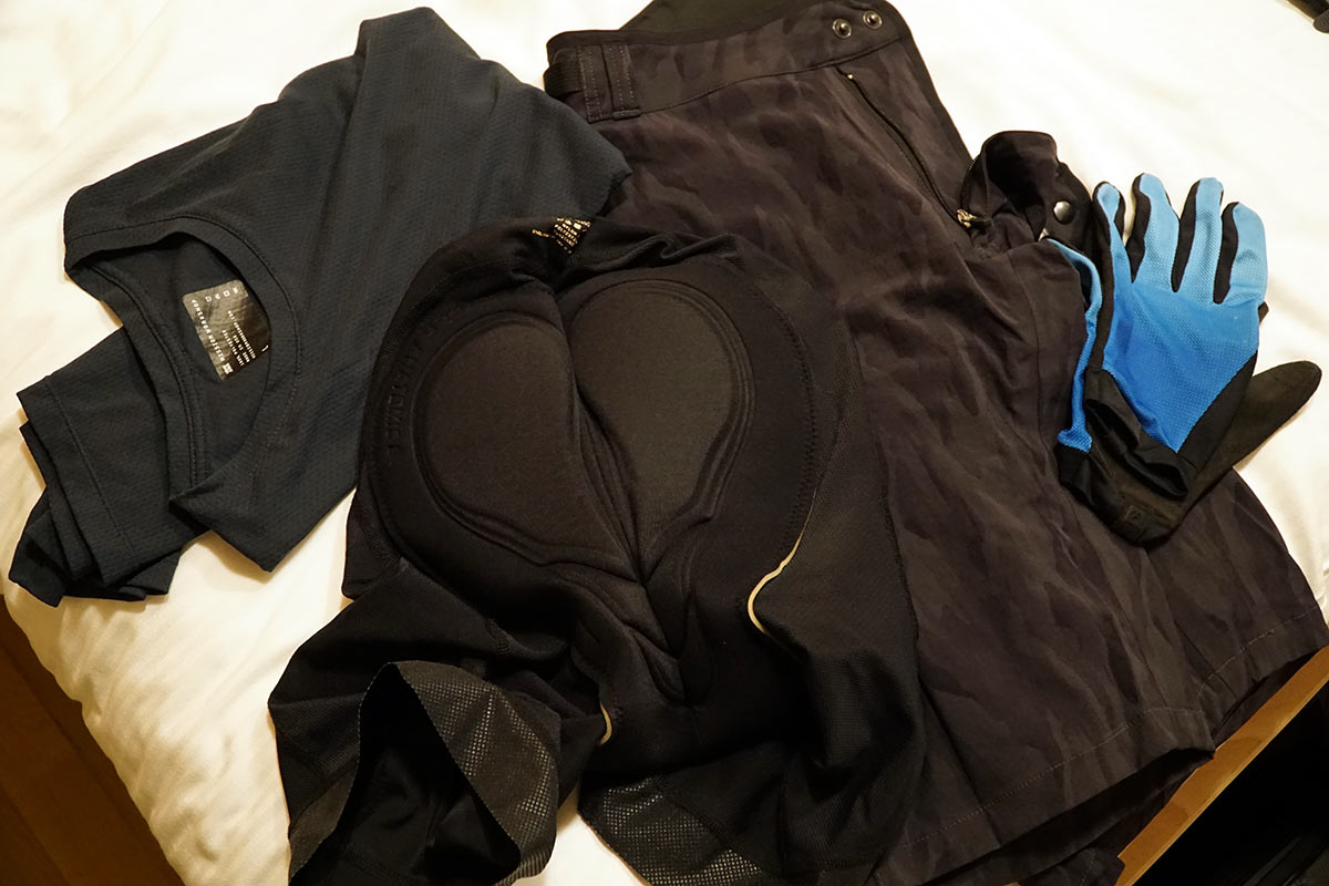 mission workshop parallel padded cycling shorts