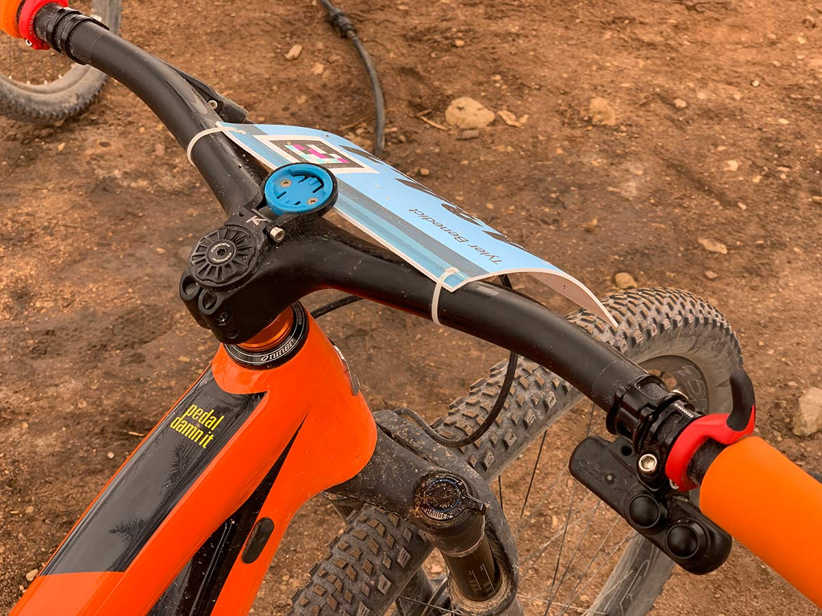 syncros fraser ic sl one-piece handle bar stem review for xc mountain bikes