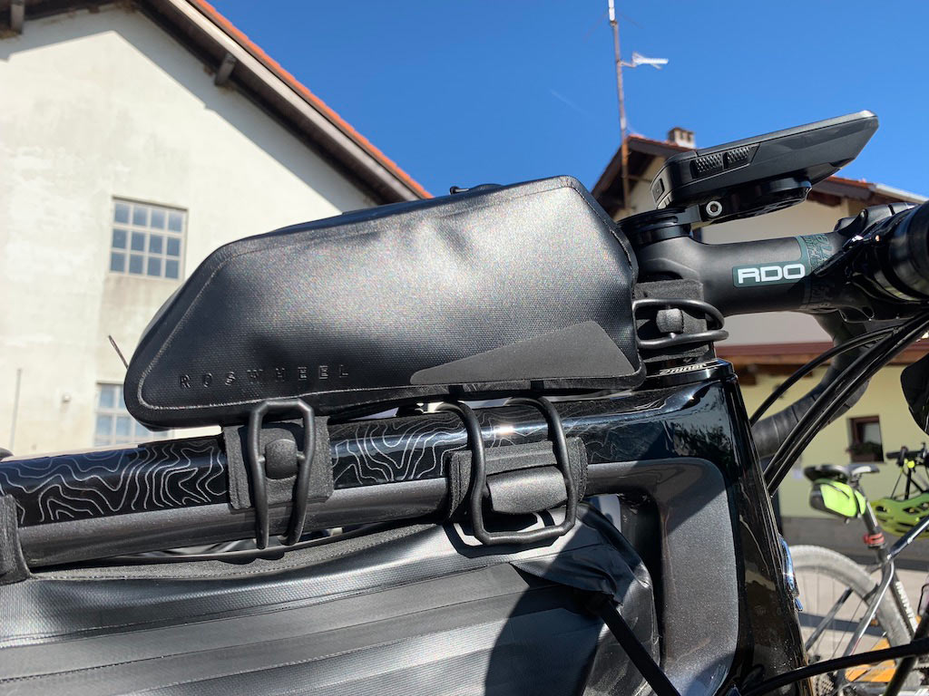 what is the best way to attach frame bags to a bike without mounts