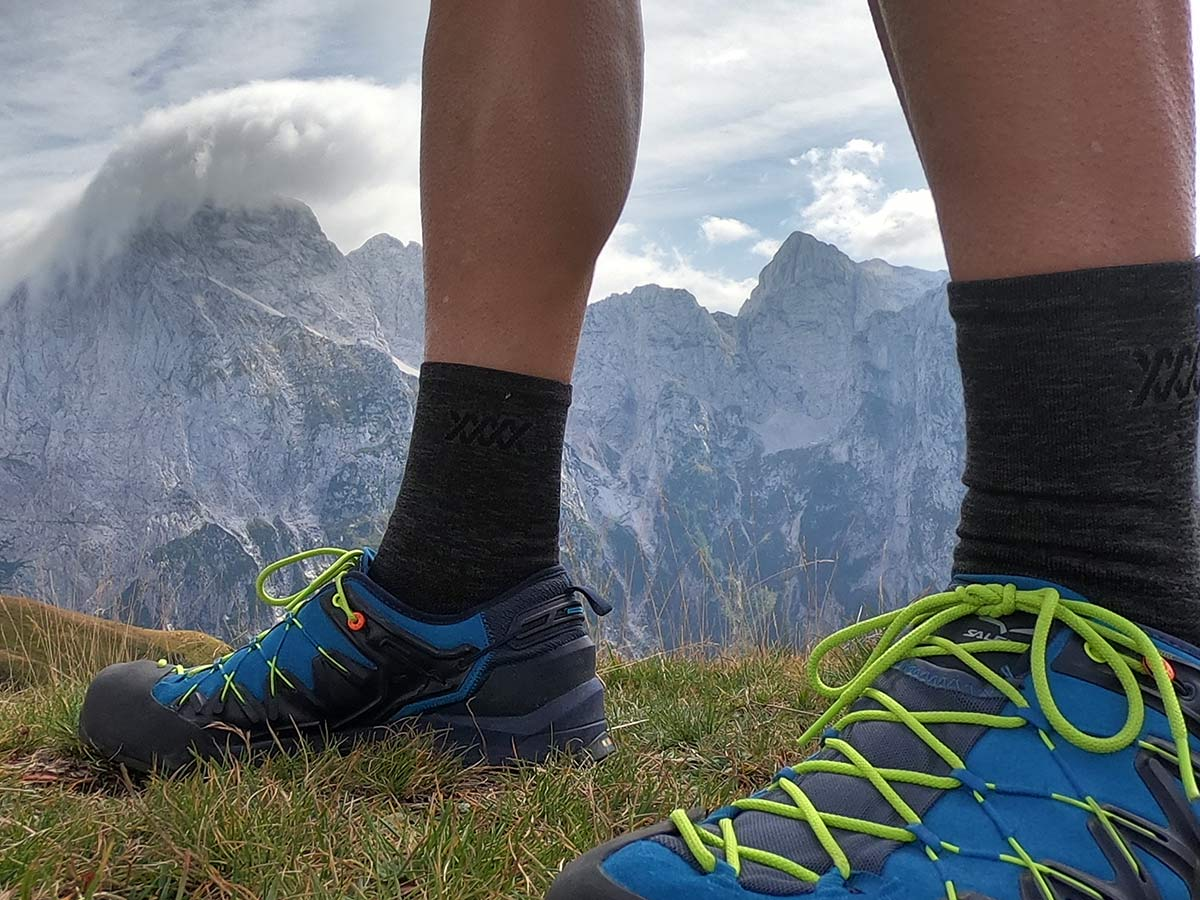 salewa wildfire edge approach shoes review