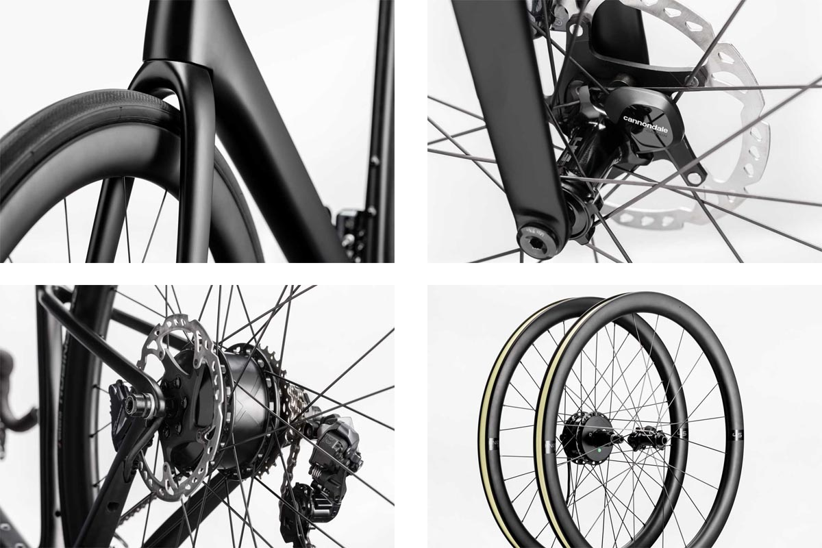 Cannondale SuperSix EVO Neo is a 25lb road e-bike w/ stealthy Mahle X35 electric assist