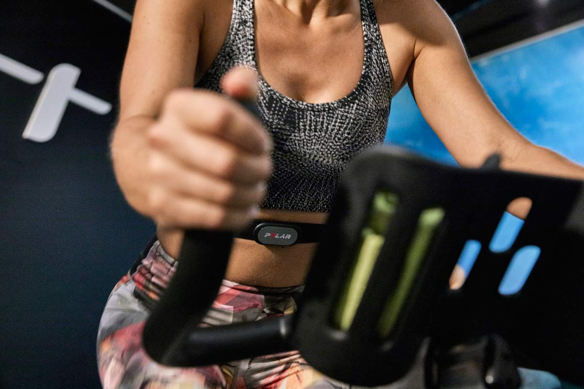 Polar H9 heart rate monitor strap, affordable heartrate sensor with BLE ANT+ 5kHz
