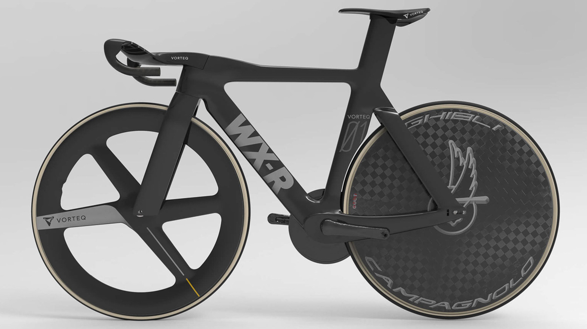 WX-R Vorteq track bike targets Tokyo: Can $80k+ buy your way to an Olympic medal?