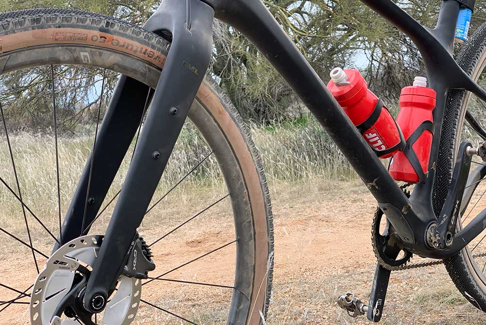 what size tires fit on the evil gravel bike