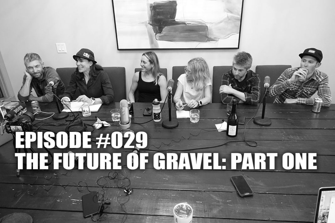 podcast interview with dirty kanza founder and other popular gravel race promoters and racers on the future of gravel cycling in the USA