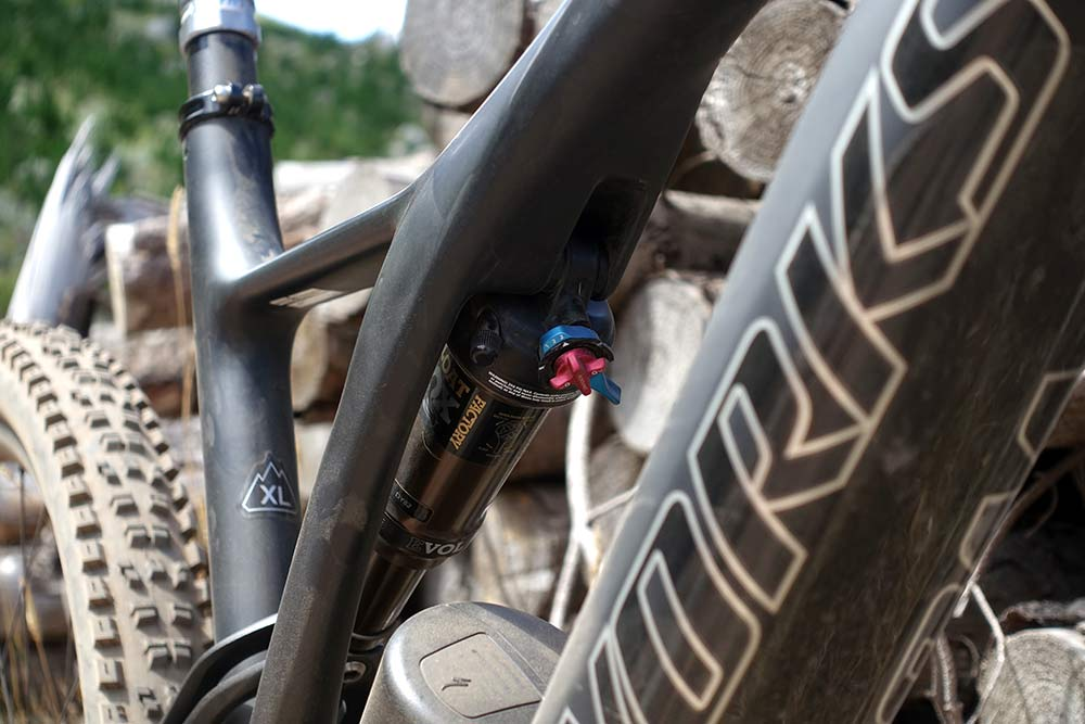 where is the levo sl battery stored in the frame