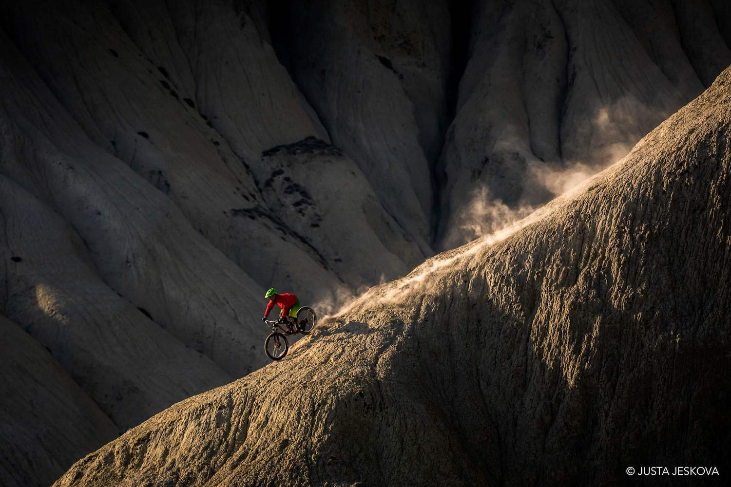 Chasing Shadows with Knolly factory rider Steve Storey, ride photos by Justa Jeskova