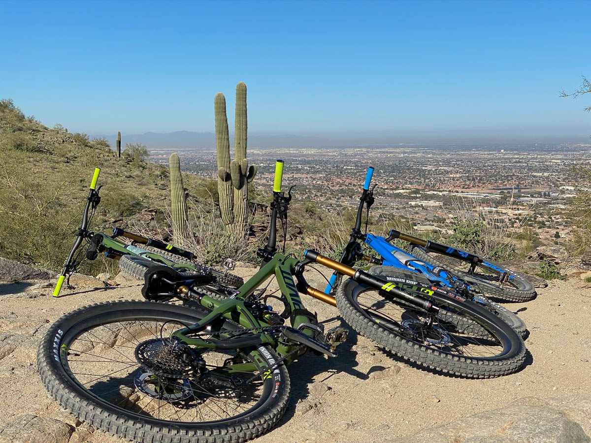 Review: First rides on the new 2020 Pivot Switchblade at South Mountain