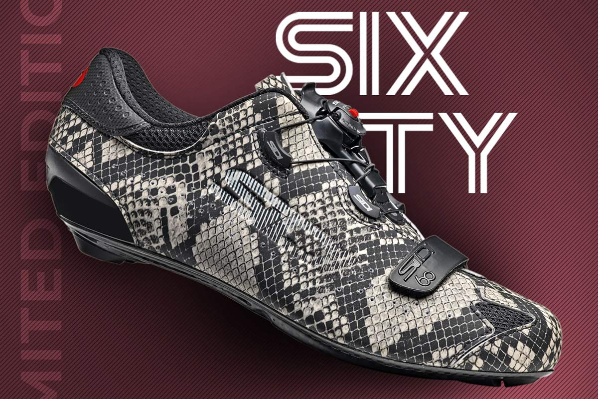Sidi Sixty Python road shoes celebrate 60 years in limited edition snakeskin throwback - Bikerumor