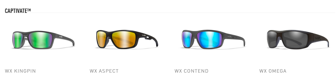New Wiley X Captivate lenses delight the senses with better color perception