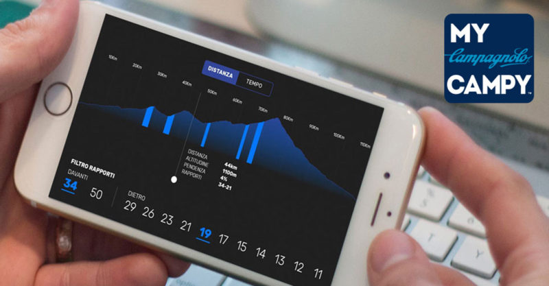 how to control your campagnolo eps shifting with a smartphone