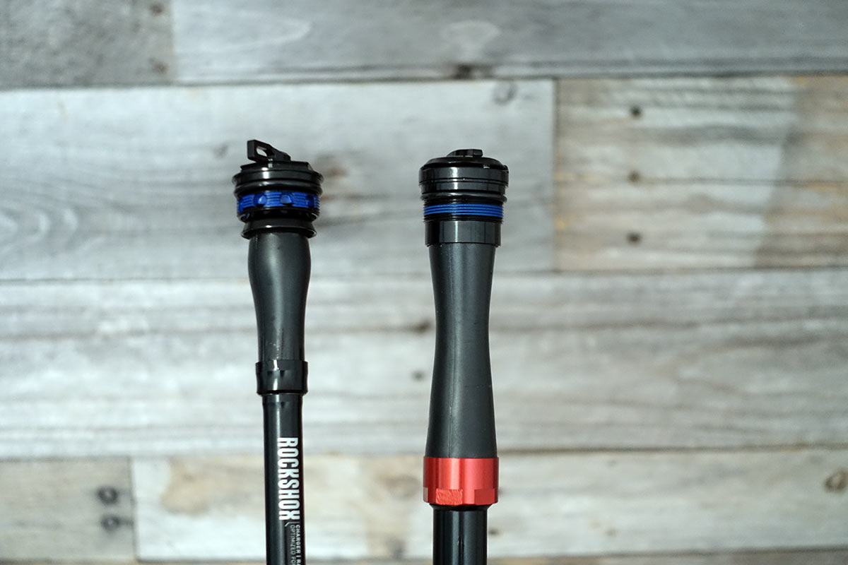 2021 rockshox charger race day damper tech and photos
