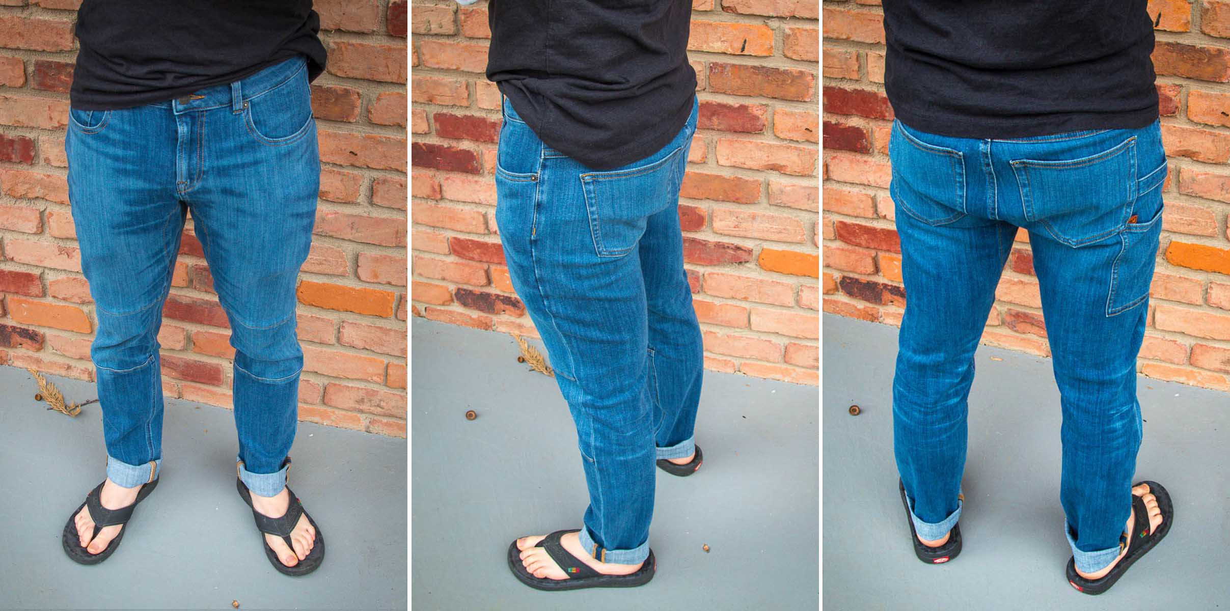 Boulder Denim 3.0 jeans for cyclists people with big legs butts thighs