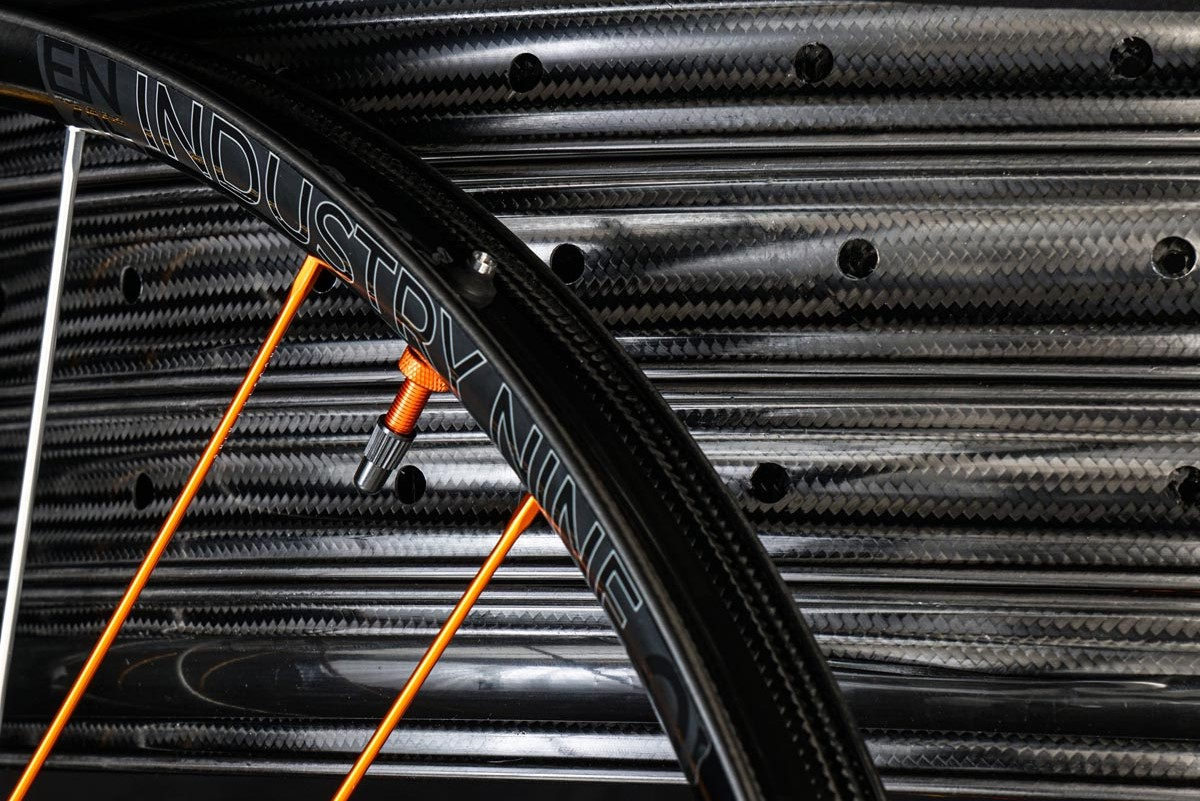 Industry Nine x We Are One Composites carbon rims