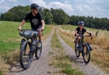 Family bikepacking with Clem and Lubin in The Analog Kids, Bombtrack photos by Marvin Beranek