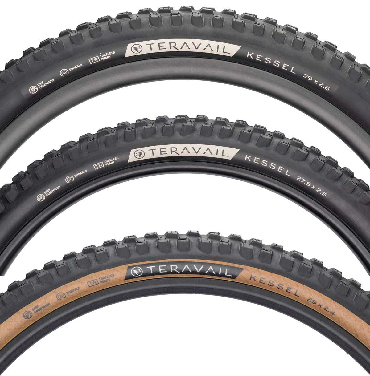 Teravail gets aggressive with new Kessel Mountain Bike Tire