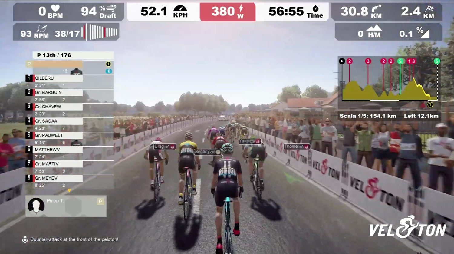 what is the Veloton indoor cycling training app