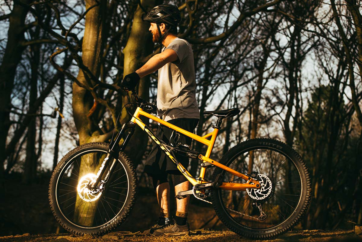 steel enduro bike made in uk