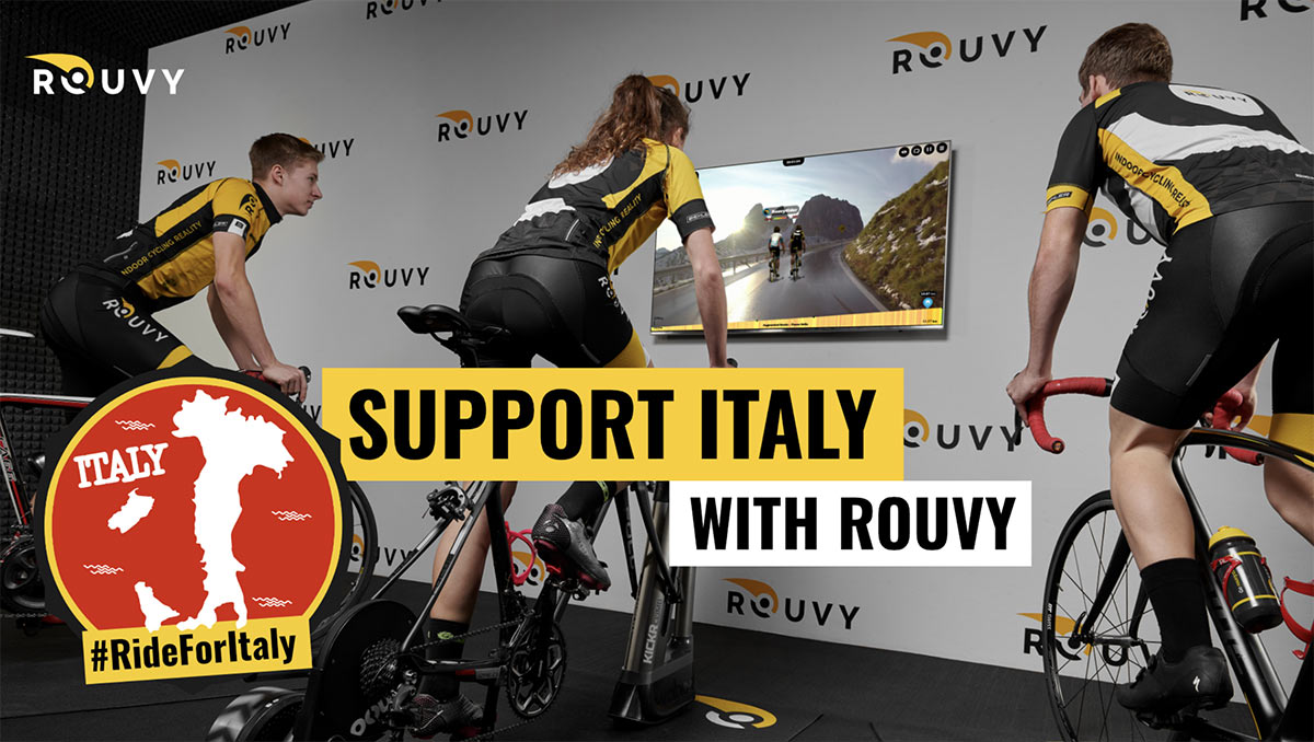 how to try Rouvy for free during coronavirus outbreak
