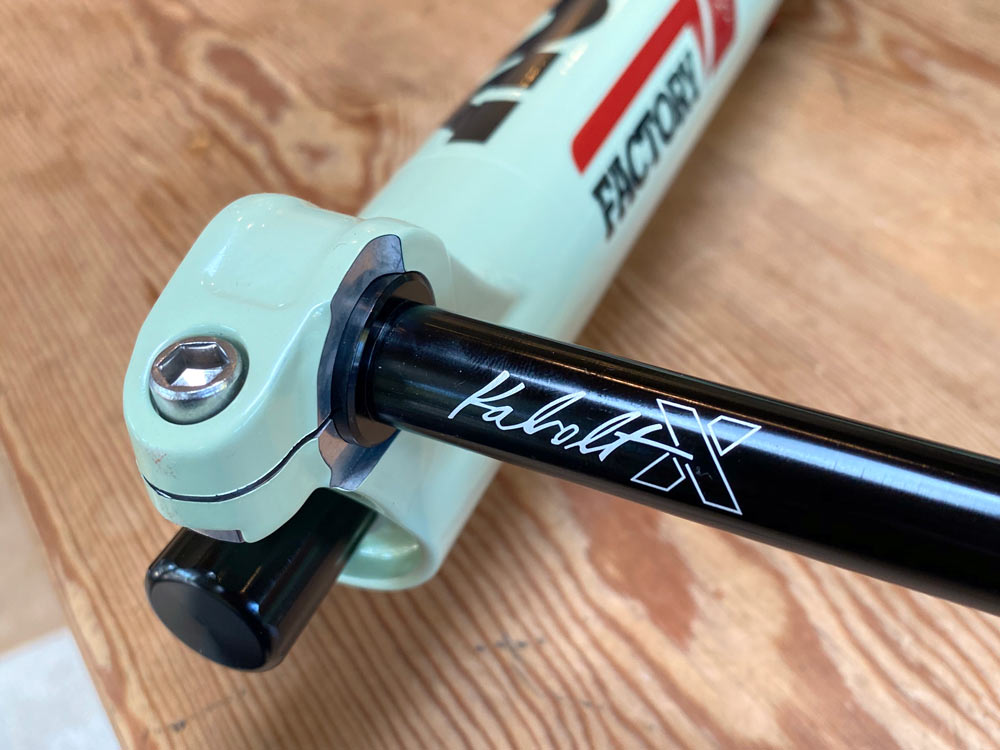 2021 fox kabolt-x tooled thru axle for new fox 38 and 36 mountain bike forks