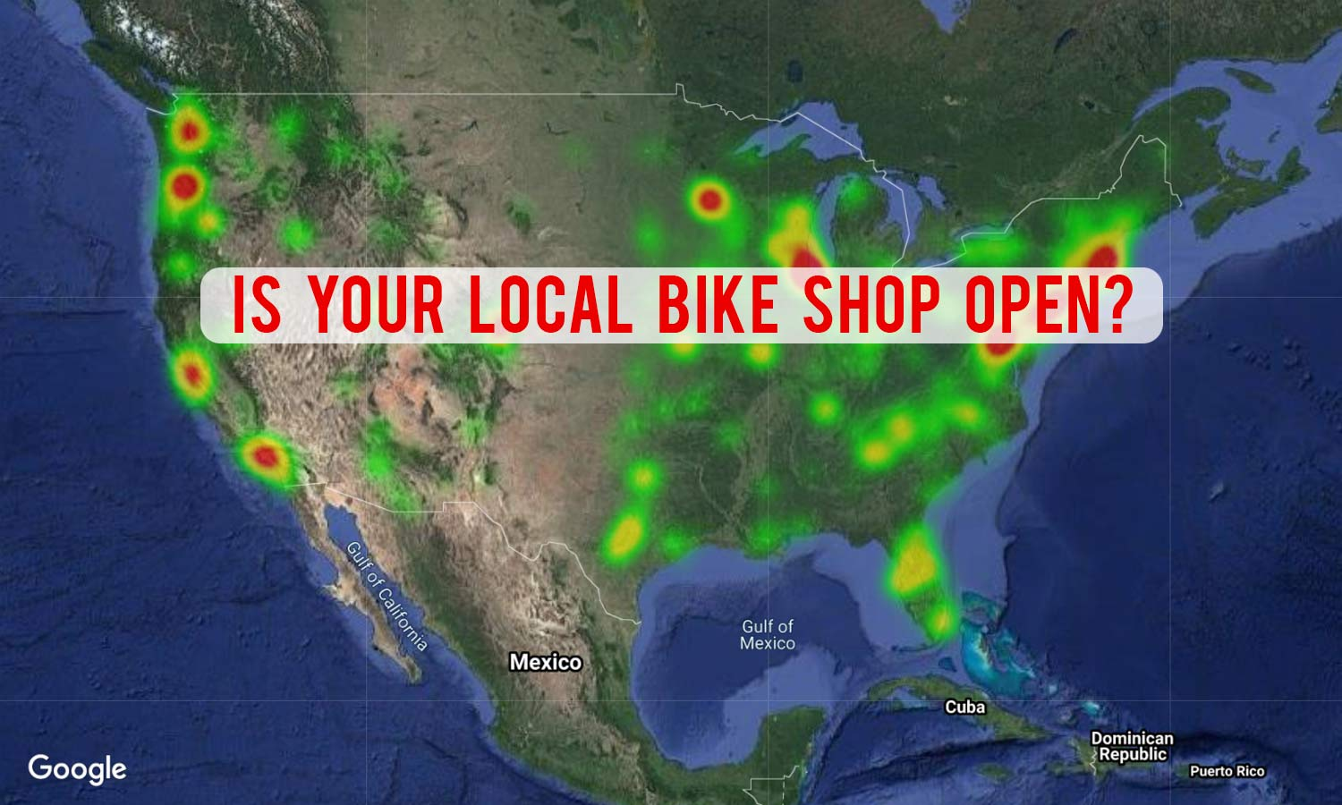 Bike Shop Status during COVID-19 pandemic: an interactive map