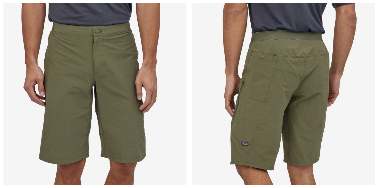 Patagonia's new Mountain Bike line up is 100% Fair Trade Certified Sewn w/ new shorts & liners