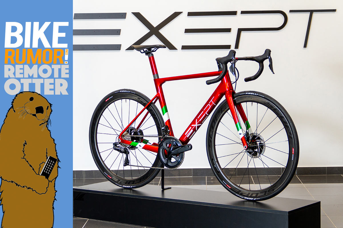 exept custom italian carbon road bikes now offers full custom paint colors and graphics for any bicycle