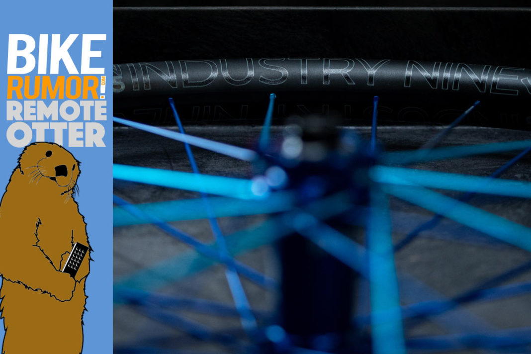 industry nine en305 alloy enduro mountain bike wheelsets with wider rim wall to reduce pinch flats