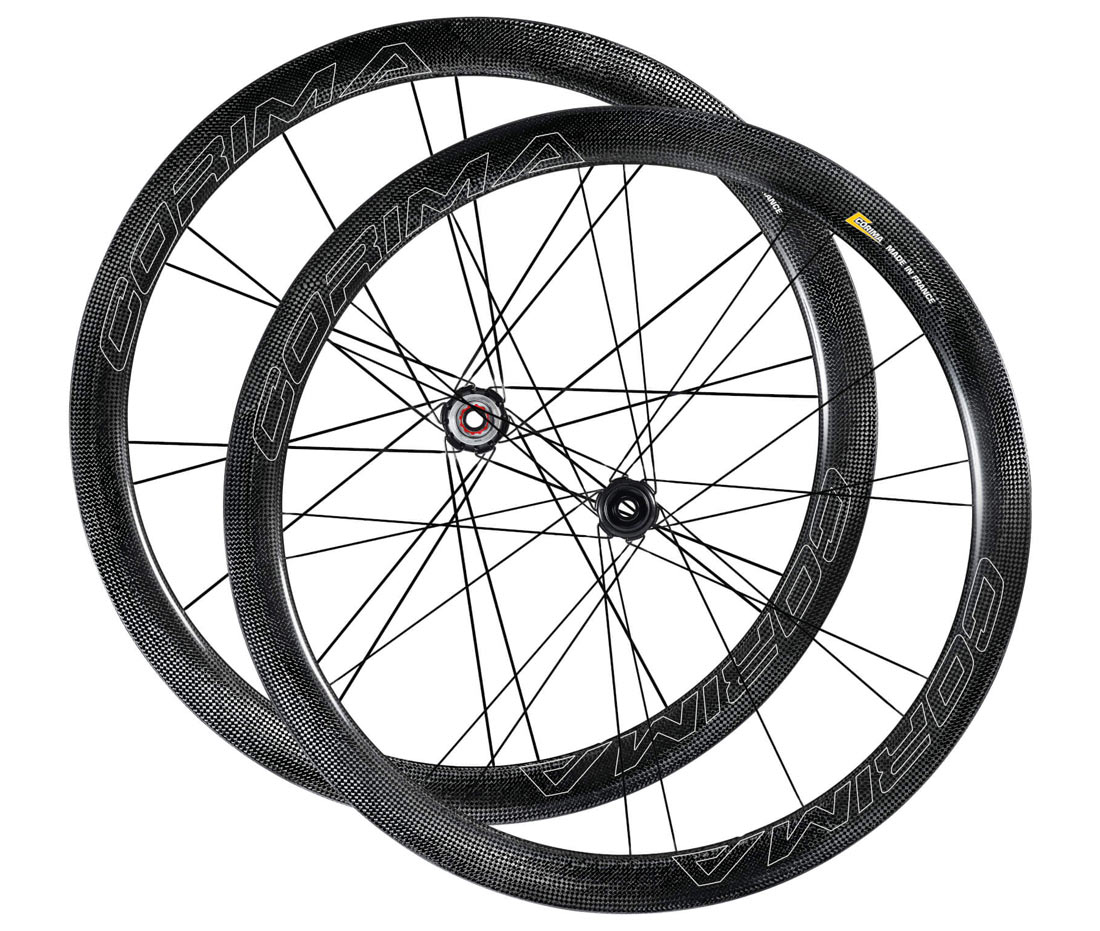 Corima WS DX Black disc brake carbon road wheels with new tubeless ready rim design