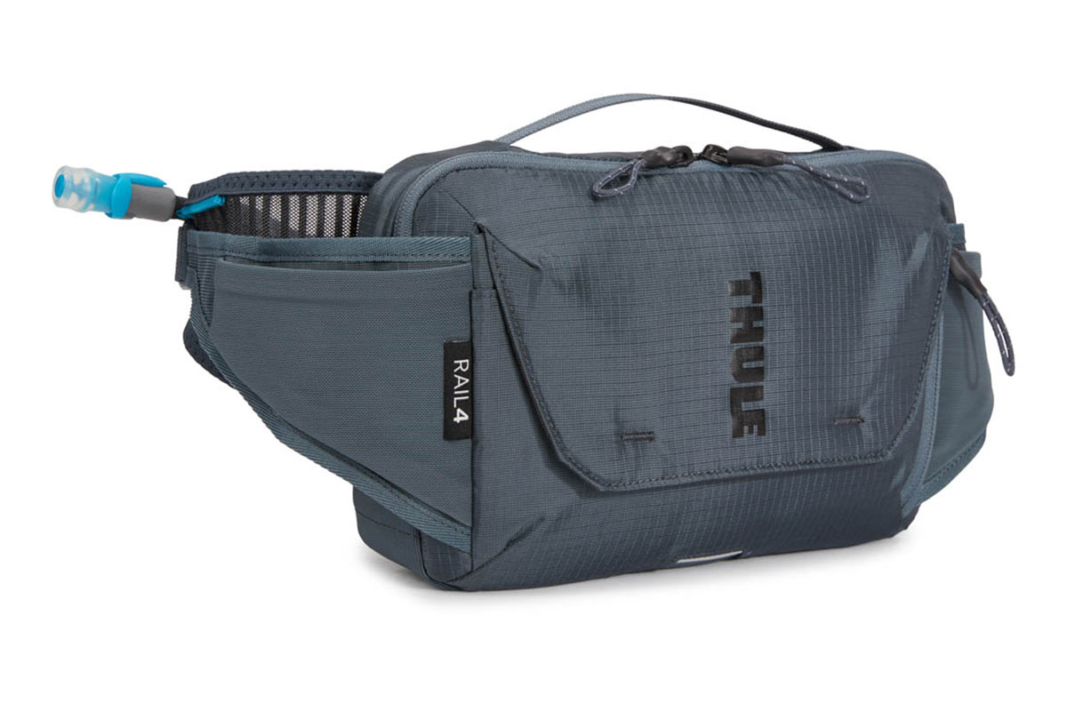 thule rail 4Liter hydration hip pack for mountain bikers