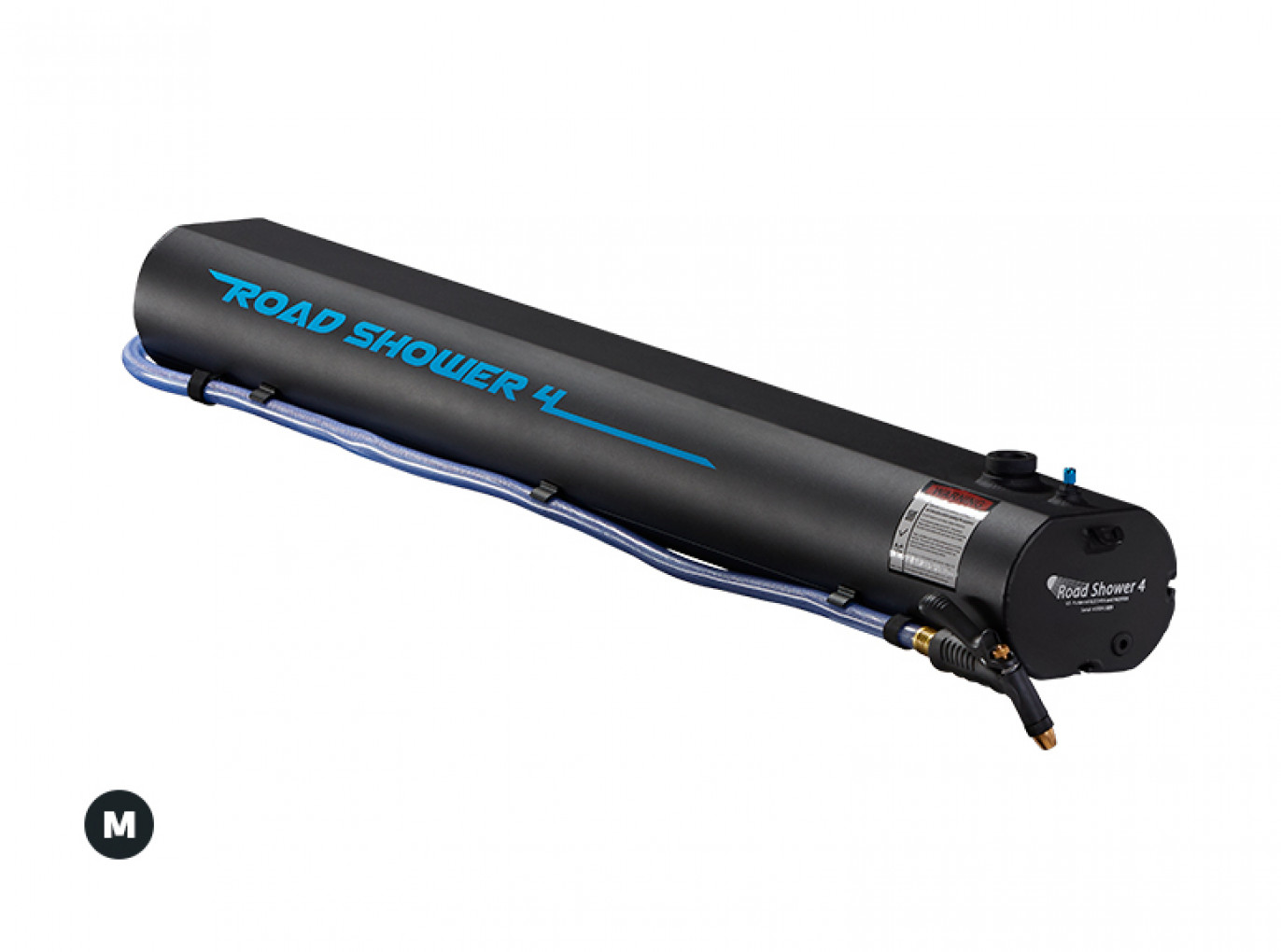 Yakima RoadShower lands on your roof for water-on-demand anywhere you roam