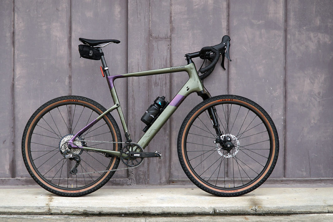 2021 cannondale topstone carbon lefty full suspension gravel bike with 650B wheels