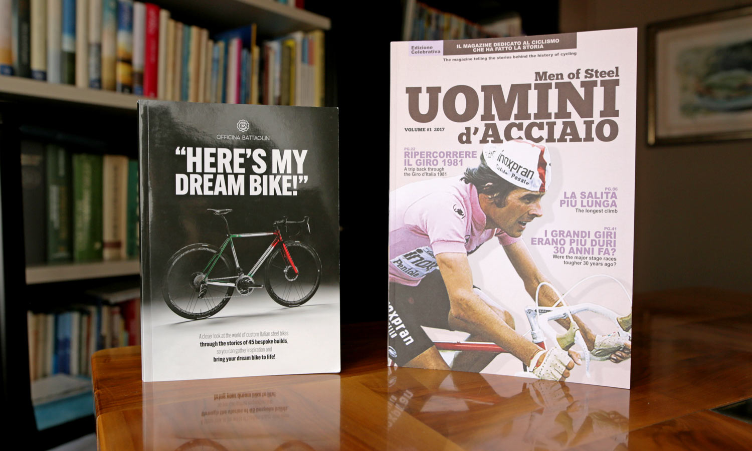 "Fuel your thirst for custom steel with free Battaglin ""Here's My Dream Bike"" book - Bikerumor"