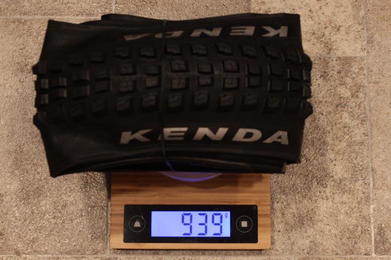 Kenda Pinner Pro, ATC model actual weight