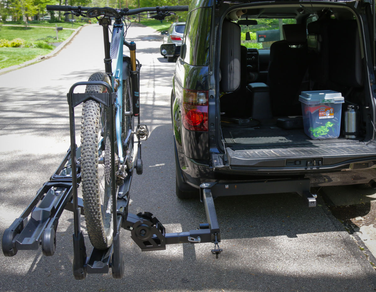 Review: Kuat Pivot V2 Bicycle Hitch Rack swing away adapter is the best yet