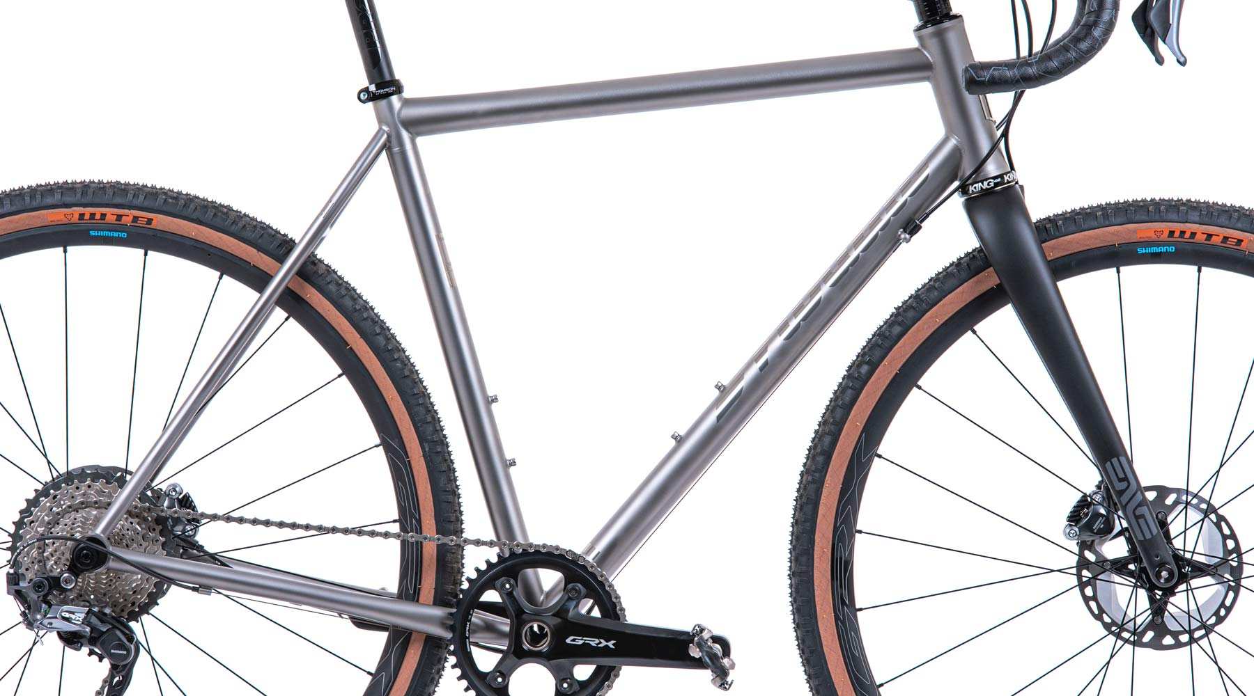 Mosaic stock Gravel Series bike_US-made handcrafted gravel all-road bikes