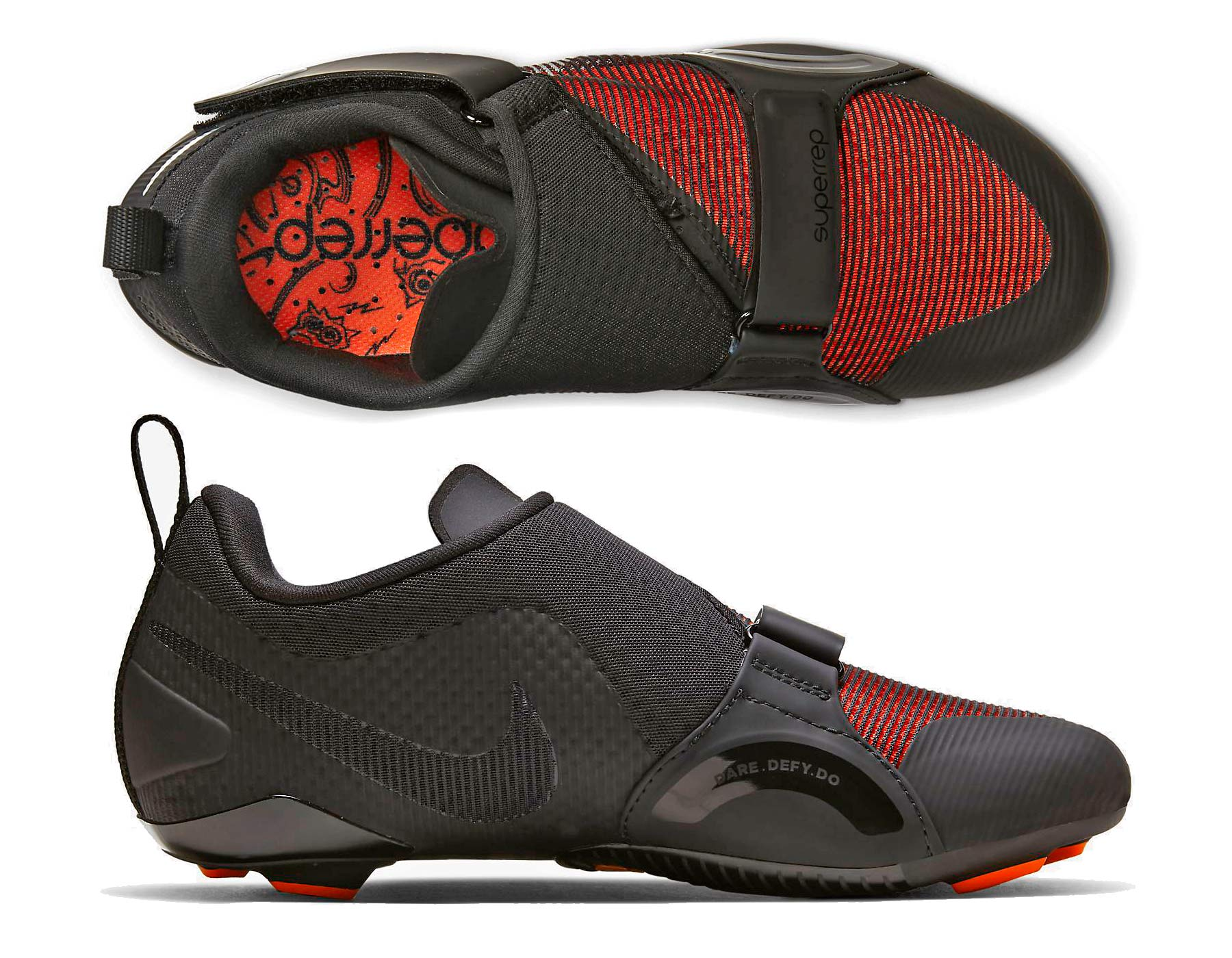 Nike SuperRep Cycle indoor cycling shoes, ultralight lightweight mesh indoor training spinning class bike shoes