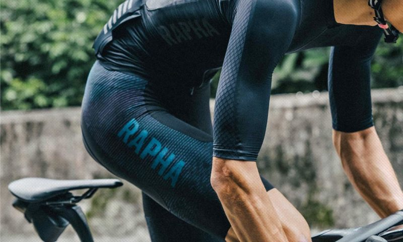 Rapha Pro Team Powerweave Bib Shorts, pro-level woven lightweaight breathable structured road cycling shorts jacquard weave