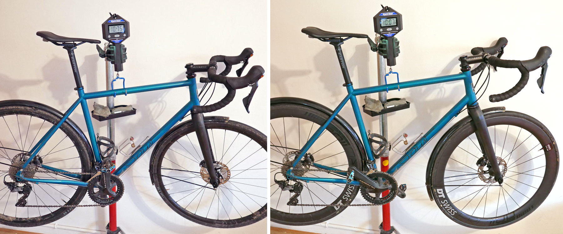 Ride Sour Clueless all road bike, affordable modern steel disc brake adaptable endurance all road bike actual weights
