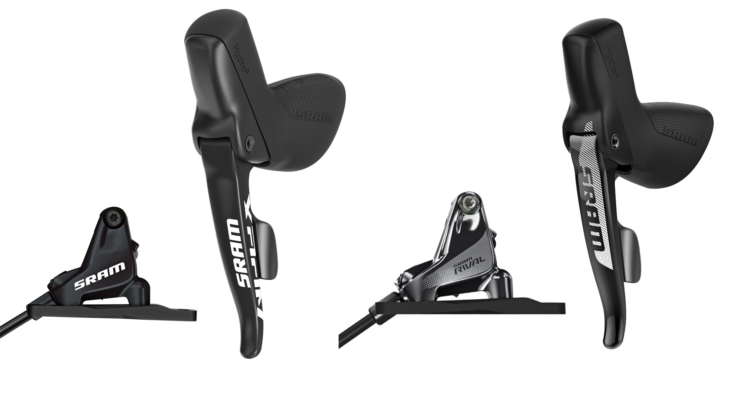 SRAM introduces new Paceline brake rotor for road + HRD levers w/ dropper post remote