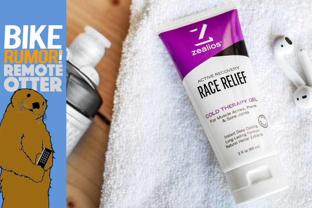 zealios race relief cold therapy gel