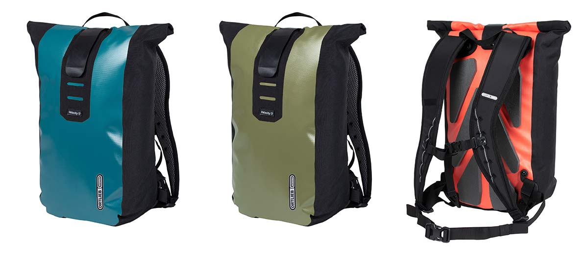 ortlieb velocity waterproof commuter backpack with internal organization for laptops and tablets