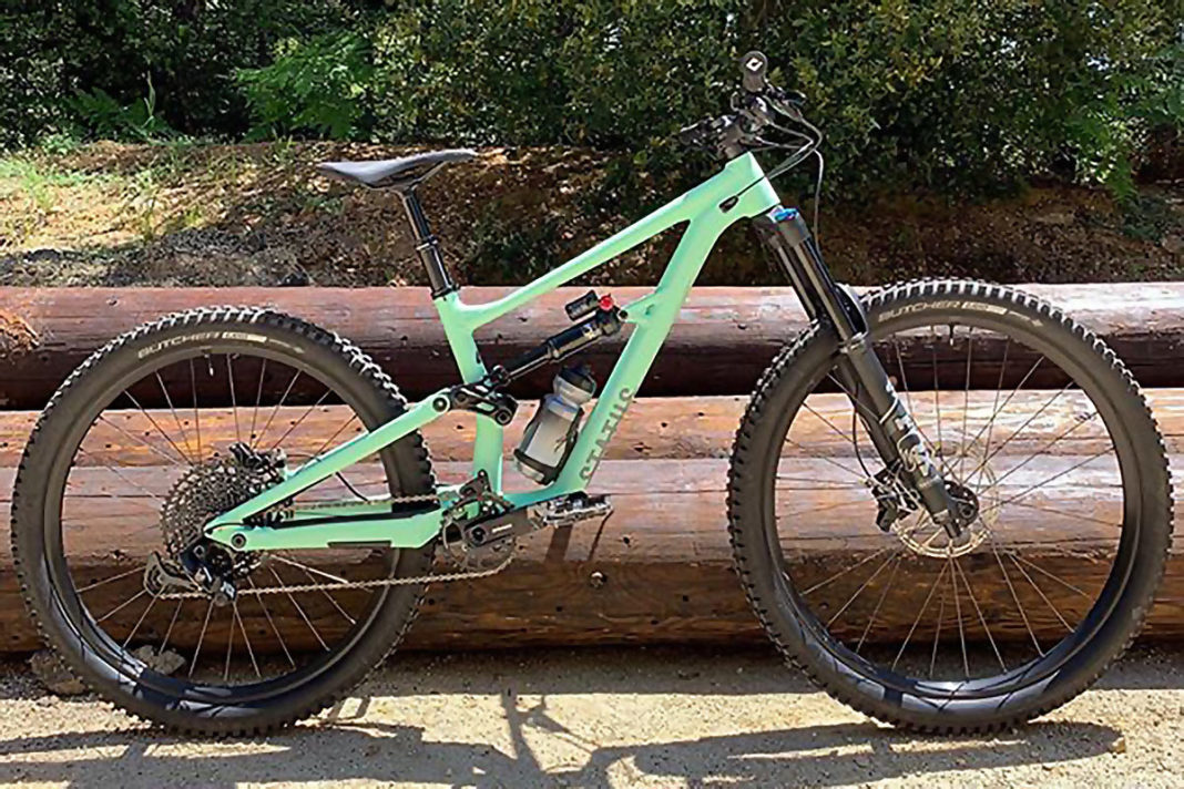 2021 specialized status mullet mountain bike with mixed wheel sizes could be coming to market - photo by Jaime Saenz