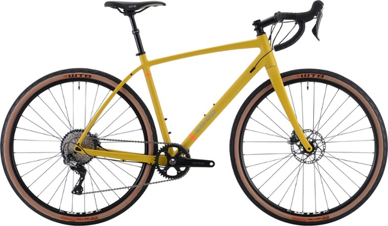 rei co-op adv 2.3 gravel bike with shimano grx 1x drivetrain and dropper seatpost is the best deal for an alloy gravel bike