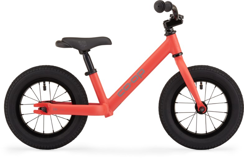 rei co-op rev 12 kids balance bike is also known as a scoot bike because it has no pedals