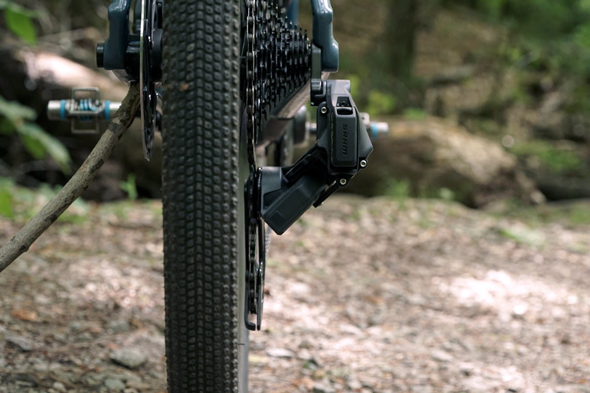 sram force axs wide range group with 43-30 chainrings and 10-36 cassette review and actual weights